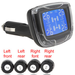 Wholesale TPMS Wireless Tire Pressure Monitoring System tpms with Sensors LCD Display CEC_705
