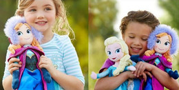 10pcs cheap frozen doll 50cm 20 inch frozen elsa anna toy doll action figures plush toy frozen dolls Christmas Gift