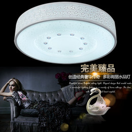 Wholesale Sitting room advocate the round LED domestic outfit lamp absorb dome light Modern elegant bedroom room dining room lamp