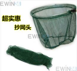 Buena pesca en Línea-Pesca plegable de descarga de pescado acoplamiento de la red de captura de los trastos de venta de la cabeza del armazón nueva buena calidad caliente 5pcs