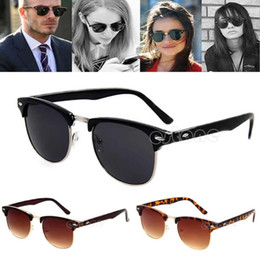 Wholesale-Free Shipping New Fashion Retro Vintage Womens Mens Designer Oversized Sunglasses Glasses Hot