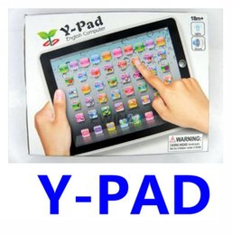 Wholesale Y Pad Y PAD ABC English Touch Learning Education Machine with Music Led Light for Kids Children
