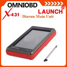 Wholesale High Quality Multi language Launch X431 Diagun Main Unit With Battery With Software with card