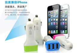 Wholesale for iPhone Universal USB Port A Car Charger for iPhone iPad iPod Samsung Tablet PC DC12V V Big brands CE FCC ROHS Certification