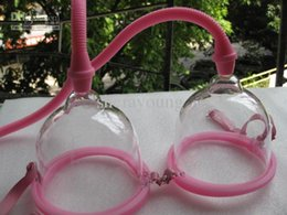 Wholesale Electric Breast Pump Enlargement Bust Enhancer Massager Dual Cup Health Beauty Adult Sex Product Toy