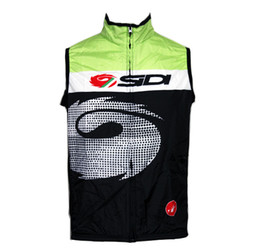 Wholesale Hotnew mens Fall outdoor windproof vest sleeveless jerseys cycling Windcoat cycling sportswears Road MTB rider ciclismo maillot