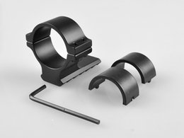 Wholesale Air Gun Airsoft Hunting Rifle mm mm Ring Scope Flashlight Mount Adaptor Clamp With mm Weave Picatinny Rail Y0039