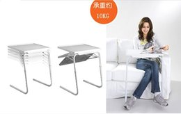 Wholesale Bold in multi functional notebook computer desk table sofa bed table bed and bedside table fold tableZ00289