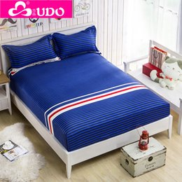 Wholesale-You Duo Home Textile Brushed Bed Protection Pad Reactive Printing Mattress Protector Cover M002
