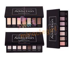 Wholesale Presale New Unique Moodstruck Addiction Shadow Palette Luxurious Eye Shadows Girls Party Favors Makeup Warm Cool Colors