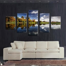 5 Panels lark views modern art canvas wall paintings cuadros decorativos canvas prints paintings for living room wall picture