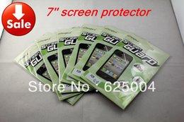 Wholesale Gros pouces à écran LCD écran Screen Guard Protector film protecteur pour naviagrtor GPS Tablet PC PDA MP5