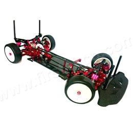 Wholesale Aluminium alloy Carbon fiber RC Racing Car Kit For SAKURA XI