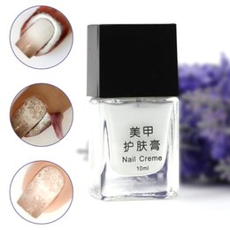 Wholesale New arrival ml sock off Finger Skin Protected Nail Liquid Gel for Nail art decoration nail creme multi use base gel