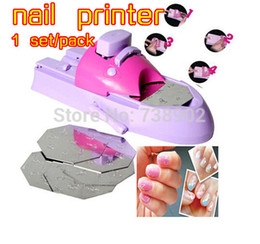 Wholesale big discount nail polish nail printer digital nial printer nial art machine Pattern Template Kit