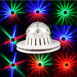 Wholesale RGB Color Changing LED Magic Ball Light Disco Stage Lighting Effect Crystal Magic Ball Lamp for DJ Bar Party Club Wedding Game