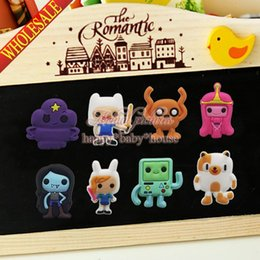 Wholesale Mixed Adventure Time Fridge Magnets Magnetic Stick Blackboard Magnets Refrigerator Magnets Office School Supplies Gifts Children Toys