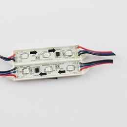 Wholesale GoesWell Best price RGB LED Module WS2811 DC12V Super Bright leds piece IP65 Waterproof W for Advertising