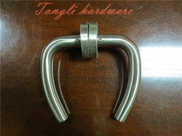 2015 promotion for stainless steel 304 heart shape lever   room door handle, direct selling,0.43kg per pair, free shipping