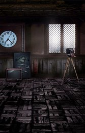 Wholesale 200CM CM fundo Camera TV window3D baby photography backdrop background LK