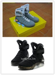 Wholesale Trainers Marty McFly Mag Back To The Future Mens Basketball Shoes Mag limited edition