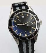 Wholesale New Stylish Auto Sea Spectre Limited Edition Men s Wristwatch Color Fabric Belt Glass Back Chronometer James Bond Spectre Male Watch