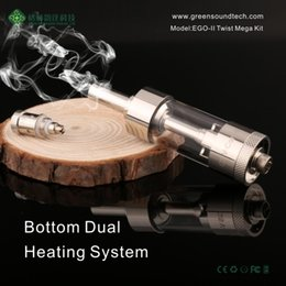 V CORE III Wholesale atomizer go with EGO II Twist 2200mAh Dual Coil Atomizer in stock DHL free
