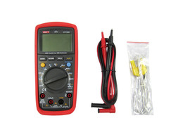 Wholesale UNI T UT139C True RMS Electrical LCD Digital Multimeters LCR Meter Handheld Tester Multimetro Ammeter Multitester UT C