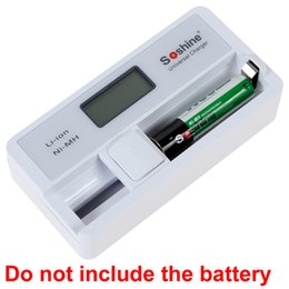Wholesale Soshine SC S7 LCD Display Automatic Charger with USB Input for Li ion Ni MH AA AAA Battery CHA_319