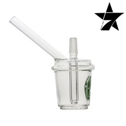 Wholesale bong glass recycler new glass bong oil rig glass pipe KT OR31
