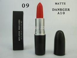 12pc New Brand Makeup Matte Russian Red Lipstick 3G Long-lasting Lipstick Free shipping