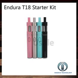 Innokin Endura T18 T18E Starter Kit With 1000mah Battery 2.5ml 2.0ml Prism 18 Atomizer 100% Original