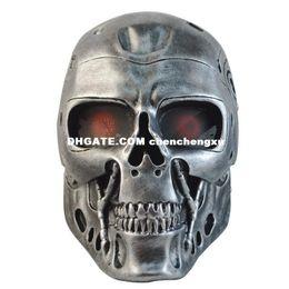 Protagonist Novelty CS Terminator Skull Halloween horror mask robot field cosplay
