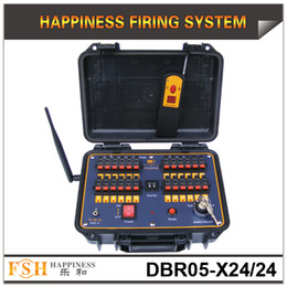 FedEX Free shipping, sequential fireworks Firing system,500M remote control, waterproof case, 24 cues Fireworks Firing System