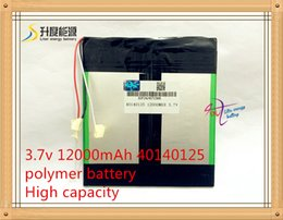 Wholesale 3 v mAh With plug For Onda V919 G Air V919 Air CH Tablet PC Battery Perfect quality of large capacity alternatives