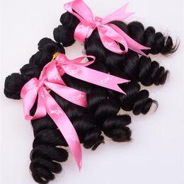 7A Grade Aunty Funmi Hair Bouncy Curls Unprocessed Romance Curl Virgin Hair Loose Wave 4pcs Brazilian Egg Curl Peruvian Human Hair Weaves