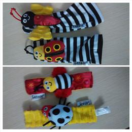Acheter en ligne Chaussettes lamaze hochet-2015 nouveau bébé jouet bébé poignet hochet hochet et Lamaze Ramaze chaussettes en peluche hochet multifonction Toy Baby Puzzle