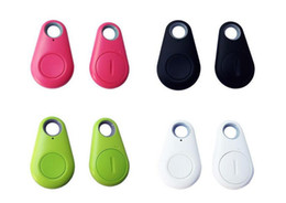 Promotion enfants finder Hot DHL Smart Bluetooth Anti-Lost Tracker Sac Enfants Sac Portefeuille Key Finder Alarme GPS Locator 4 couleurs