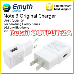 Wholesale Original Note Style Charger Micro USB Wall Charger Home Travel Adapter For Samsung S4 S5 S6 NOTE NOTE True Full V A High Quality