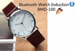 Wholesale Bluetooth Watch For mini wireless earpiece as A Full Hands free Talking Kit Really watch Mechanical Watch