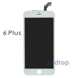 Part entière en Ligne-Pour iPhone6 Plus LCD AAAA Qualité Pas d'affichage des pixels morts Ecran Touch Digitizer avec cadre avec pièces petites Pièces d'assemblage intégral