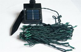 Wholesale 2015 HOT SALE Solar powered Waterproof M Solar Led Strings LED Christmas Gift Party Lights Tree Fairy Colorful LED Christmas Lights