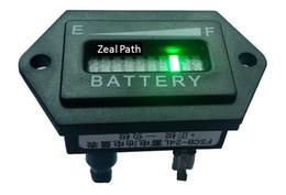 Wholesale Hexagon bar LED Digital Battery Charge Indicator with voltage indication For Golf Cart motorcycle V V V V V per