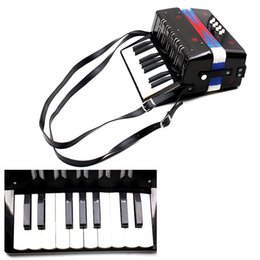 Wholesale Kids Children Key Bass Mini Small Accordion Educational Musical Instrument Rhythm Band Toy order lt no track