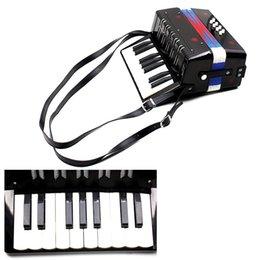 Wholesale Kids Children Key Bass Mini Small Accordion Educational Musical Instrument Rhythm Band Toy order lt no track