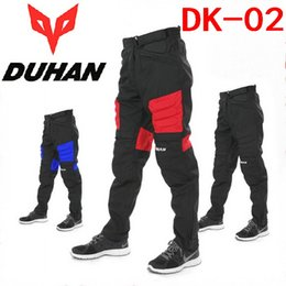 Wholesale Authentic DUHAN Moto racing trousers off road motorcycle riding pants summer pants motorcycle protective wear popular brands Oxford