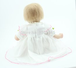 Wholesale hand made inches lifelike reborn baby soft silicone vinyl real touch doll newborn baby