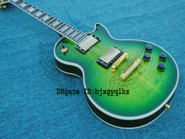 Guitar Custom Electric Guitar Green Free shipping wholesale guitars from China Guitar Factory