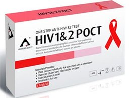 Wholesale tests One Step Anti HIV Test for Personal Home Use HIV AIDS Antibody Blood Self Test Kit with CE Certificate