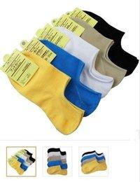 Wholesale-Pure color joker invisible socks